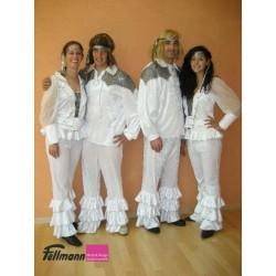 ABBA Dame weiss