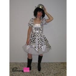 Bajazzo-Kleid