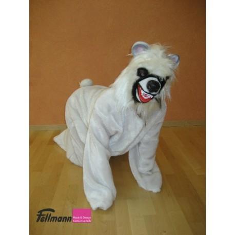 Eisbär Gummi Maske