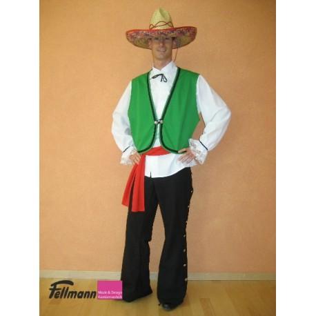 Mexikaner grün-weiss-rot