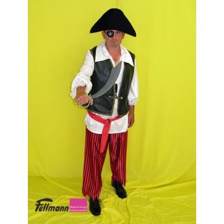 Pirat gestreifte Hose