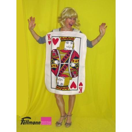 Pokerkarte König