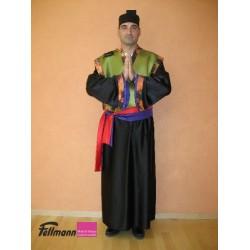 Samurai Herr schwarz-grün