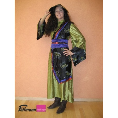 Samurai Dame oliv