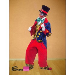 Clown rote Hose Gilet