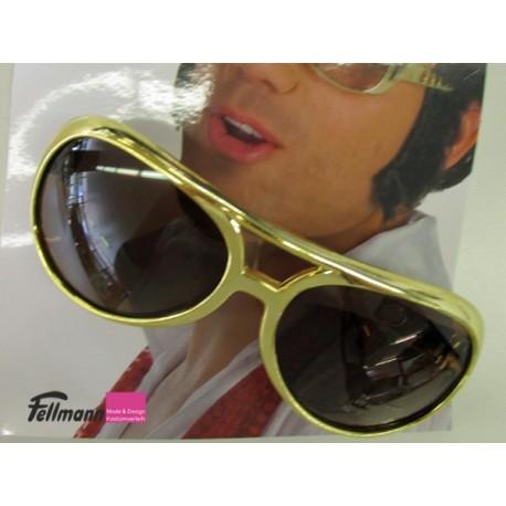 Brille Elvis gold