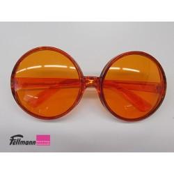 Brille orange