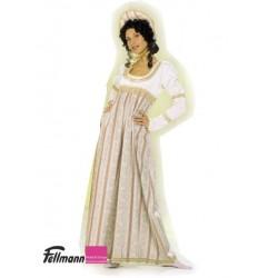 Empire-Kleid rosa
