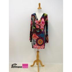 Hippie-Kleid bunt