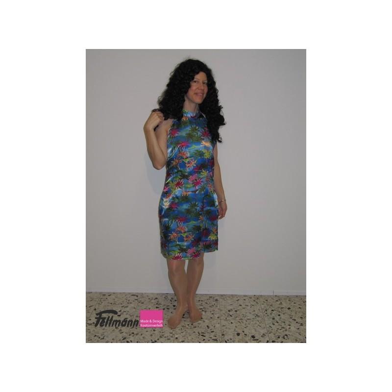 Hawaii Kleid blau - Fellmann Mode & Design, Kostümverleih
