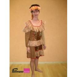 Hawaii Kleid braun