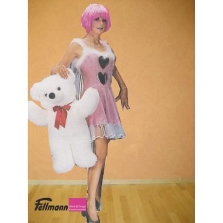 Herzilein Kleid pink