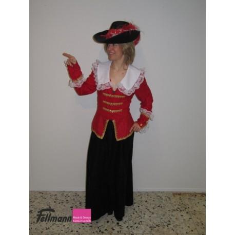 Musketier-Kleid Dame