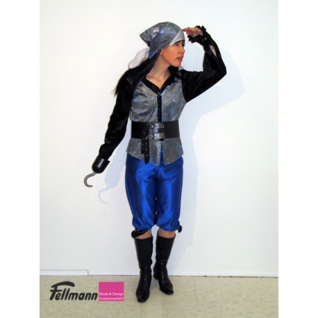 Piratin blau
