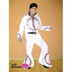 Elvis rot-blaue Verzierung