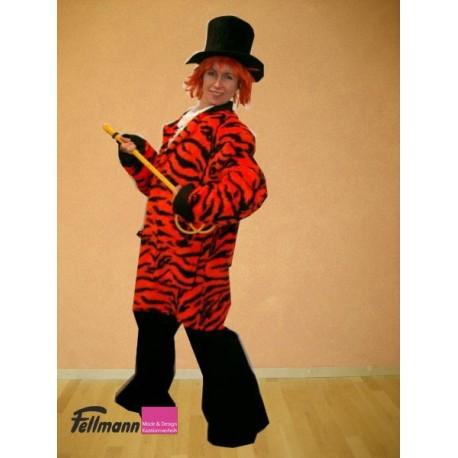Popstar Jacke orange-schwarz