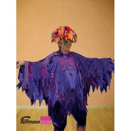 Paradiesvogel schwarz