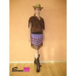 Cowgirl Wildleder mit Jupe