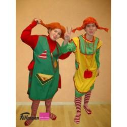 Pippi Langstrumpf Kleid