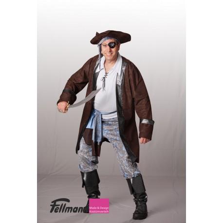 Pirat blau-braun