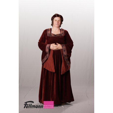 Mittelalter-Frau Samt