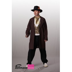 Cowboy mit Mantel