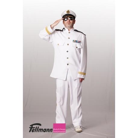 Kapitän weiss mit Abzeichen