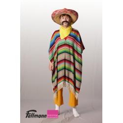 Mexikaner Poncho bunt