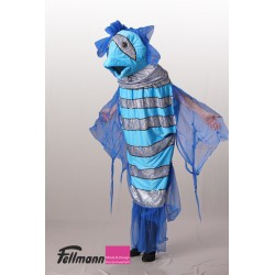 Fisch blau