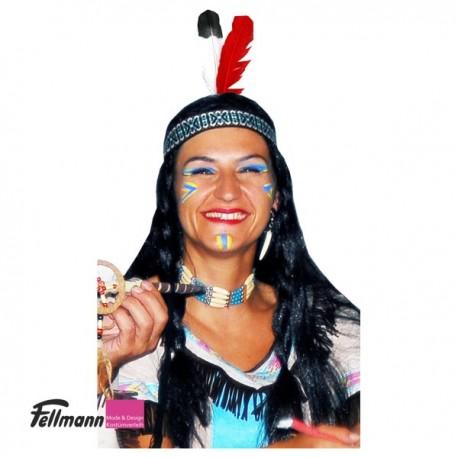 Indianer Stirnband mit einer Feder