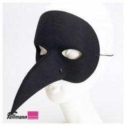 Schnabelmaske schwarz