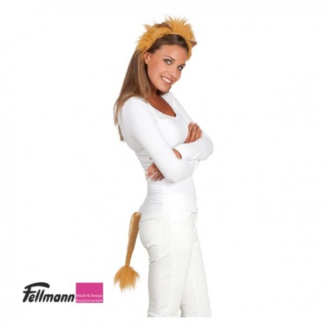 Haarreif Löwe mit Schwanz