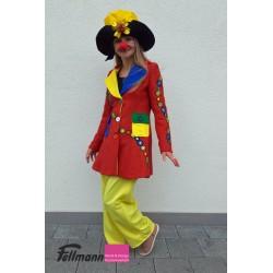 Clown-Jacke Dame
